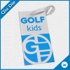 Golf Kid′s Tag with String Use for Garment Fabric