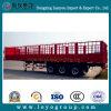 Hot Sale Transportation Cargo Stake Semi Trailer for Sale