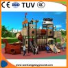 Popular Kid Playground Equipment Outdoor Playground with Pirate Ship Slide