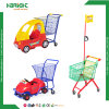 Supermarket Plastic Child Size Mall Trolley Toy Metal Children Shopping Cart for Kids