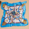 Gwp Silk Imitation Square Scarf in 53 X 53 Cm (Hz94)