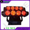 8X10W Beam Moving Head Spider LED Sensor Night Light