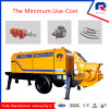 Pully Manufacture 30 M3/H Electric Portable Concrete Pump (HBT30.8.45)