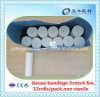 Bleached Gauze Bandage Blue Paper Package