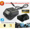 New Hidden Mini Car Dash Camcorder Built in 5.0mega Car Camera, Novatek Ntk96650 CPU, WDR, G-Sensor, GPS Tracking, WiFi for Mobile Phone Control DVR-1519