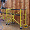 X Type Folding Multifuctional Scaffold with Single Wheels