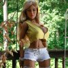 Real Sex Doll 148m with Metal Skeleton Sex Toys