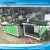 Two Lines Plastic Bag Making Machine Hot Seal Cold Cut