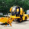 Self Loading Mobile Concrete Mixer Truck Factory Price