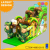 Monkey Animal Slide Amusement Park Commercial Outdoor Inflatable Dry Slide (AQ01762)