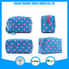 New Style Blue Dots Microfiber Cosmetic Bag Makeup Bag