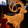 High Waterproof LED Goat Motif Lights for Professional Christmas Illumination
