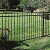 Western Modern Simple Style Powder Coated Garden Fence