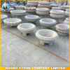 Cheap Grey Granite Flowerpot for Garden