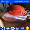 Large Diameter E-Grade Colorful Silicone Rubber Coated Fiberglass Fire Sleeve
