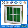 America Style Used Aluminum Single Tempered Glass Windows/ Aluminum Sliding Window and Door