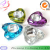 Colorful Heart Shape Tealight Glass Candle Holder (CKGCR130118)