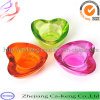 Colorful Heart Shape Tealight Glass Candle Holder (CKGCR130128)