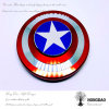 Hongdao New Camouflage Color Fidget Spinner America′s Shield Fidget Spinner_D