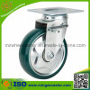 4 Inch Double Brake Caster with PU Wheel