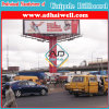 Three Sides Steel Structure Outdoor Advertising Spectacular Billboard