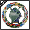 Cool Hollow out Metal Badge for African Flags (BYH-10542)