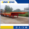 2017 China 3-Axle Container Flatbed Trailer Truck
