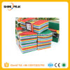 10PCS Colorful Microfiber Scouring Pads
