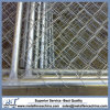 Removeable Construction Galvanized Portable Chain Wire Temporary Events Fence