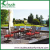Cast Aluminium Table and Chairs Outdoor Furniture