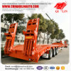 17meters Low Bed Truck Semi Trailer with German Suspension
