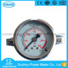 40mm Oil Filled with Rhombus Clamp Stainless Steel Case Manometer