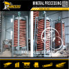 Wet Ore Spiral Concentration Gold Mineral Gravity Spiral Chute Separator