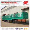 30t - 60t Column Board Fence Semi Trailer for Farm Products Loading