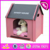 Hot New Product for 2015 Cute Pet Bed for Dogs, Luxury Pet Dog Bed Wholesale, High End Handmade Wooden Dog Bed W06f002c