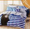 Wholesale 100% Cotton Strips Comforter Set Bedding Set