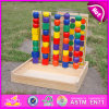 2015 Educational Stacking Game Toy for Kids, Perceptivity Developing Wooden Stacking Toy, Safety Wooden Stack Math Toy W13D074
