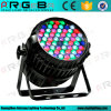 DMX Waterproof 54X3w RGBW Zoom LED PAR Can Light