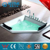 Good Quality Built-in Massage Bathtub From China (BT-A1035)