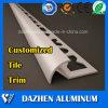 Tile Trim Corners Aluminum Aluminium Extrusion Alloy Profile with Customized Colors