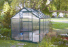 2.1m*2.8m Polycarbonate and Alu. Frame Hobby Greenhouse (HB709)