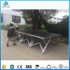Hot Selling Portable Scissors Stage, Usded X Folding Stage for Outdoor Events