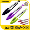 "7′′ 9"" 12"" 14"" Salad BBQ Accessories Silicone Stainless Steel Kitchen Tongs"