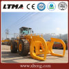 Promotion Price 8-25 Ton ATV Sugarcane Wood Grapple Log Loader