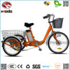 New Design 3 Wheel Electric Bicycle Big Wheel Tricycle Gift for Disabled