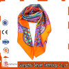 Cheap Colorful Long Kerchief Sublimation Custom Printed 100% Silk Scarf
