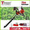 Teammax 72cc Stable Quality Easy Start Gasoline Earth Auger