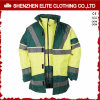 Winter Mechanic Flame Retardant Safety Yellow Reflective Workwear (ELTHJC-438)