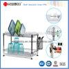 2 Tiers Competitive Chrome Metal Dish Rack China Manufacturer (CJ-C5006)