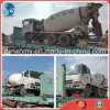 2006~2009 Time-Saving-Concrete-Mixing Flat-Rack-Container 6*4-LHD-Drive Manual-Transform Mitsubishi Used Concrete Mixer Truck